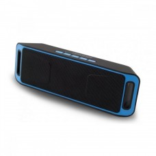 Esperanza Ηχείο Bluetooth 6W Hands-Free & w/FM Radio Μαύρο/Μπλε 14810